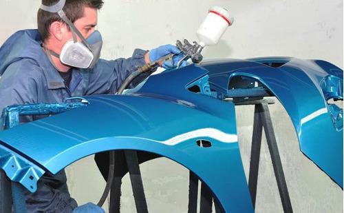 servicio de latoneria, pintura y pulido de vehículo