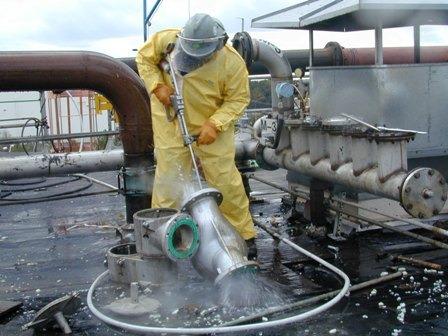 servicio de lavado equipos de minería (perforadoras y otros)
