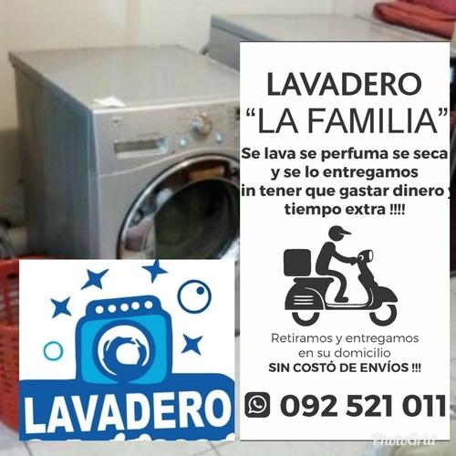 servicio de lavandería sin costos