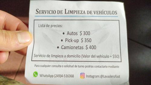 servicio de limpieza automotriz a domicilio