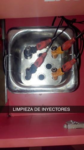 servicio de limpieza de inyectores