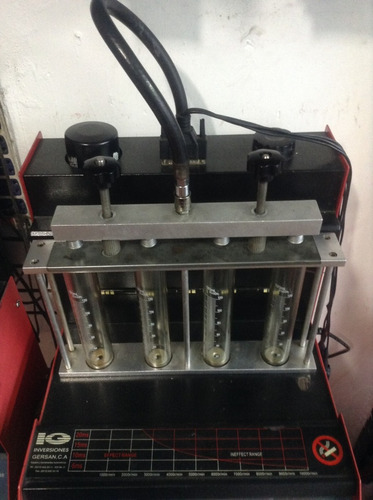 servicio de limpieza de inyectores por ultrasonido
