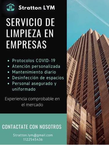 servicio de limpieza domestica, casas, oficinas, consorcios
