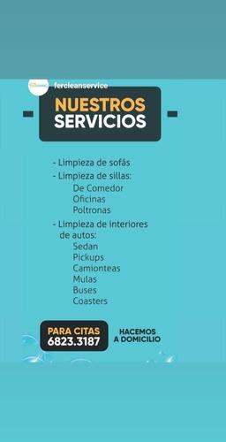 servicio de limpieza moderna para muebles y autos