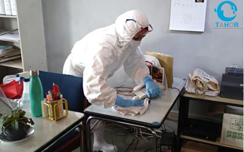 servicio de limpieza y desinfección