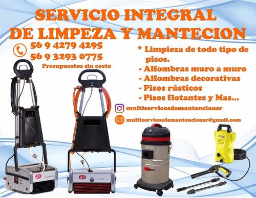 servicio de limpieza y mantención