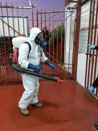 servicio de limpieza y sanitizacion industrial y hogar