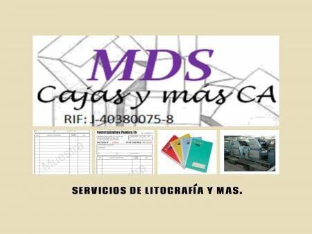 servicio de litografia