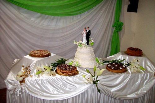 servicio de lunch bodas,15 años,promo lunch y torta $ 95-