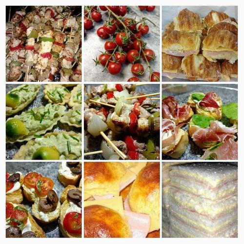 servicio de lunch - catering- eventos de lo nuestro lo mejor