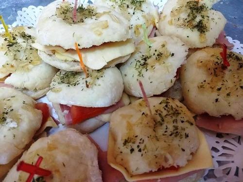 servicio de lunch catering mini 25 per economico mesa salada
