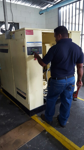 servicio de mantenimiento a compresores industriales