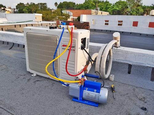 servicio de mantenimiento de aire acondicionado