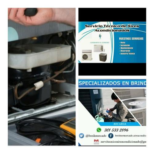 servicio de mantenimiento de aires acondicionados