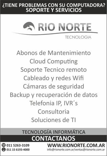servicio de mantenimiento de ti pc y redes/ abonos mensuales
