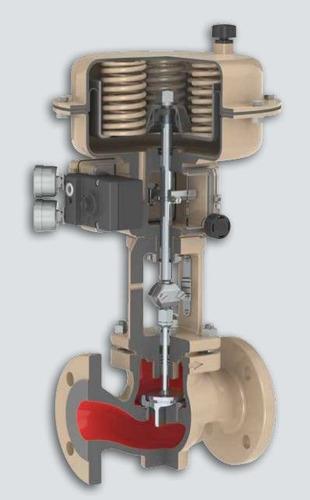 servicio de mantenimiento para válvulas samson