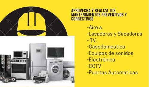 servicio de mantenimiento preventivo y correctivo