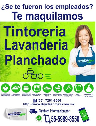 servicio de maquila a tintorerías lavanderias planchaduria