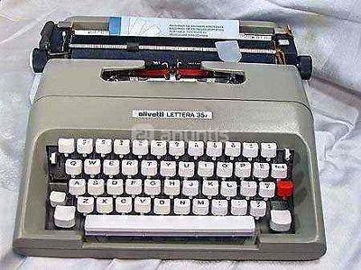 servicio de maquinas de escribir olivetti.