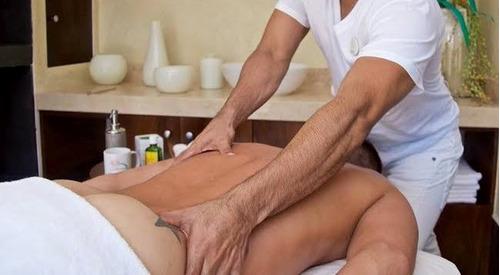 servicio de masaje tipo sueco  y anti-estrés