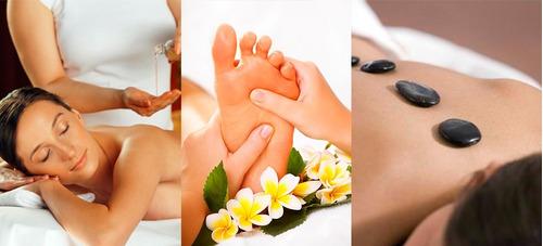servicio de masajes a domicilio manos de angel.