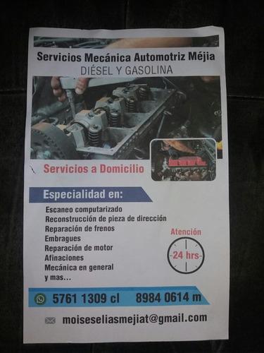 servicio de mecánica automotriz mejía
