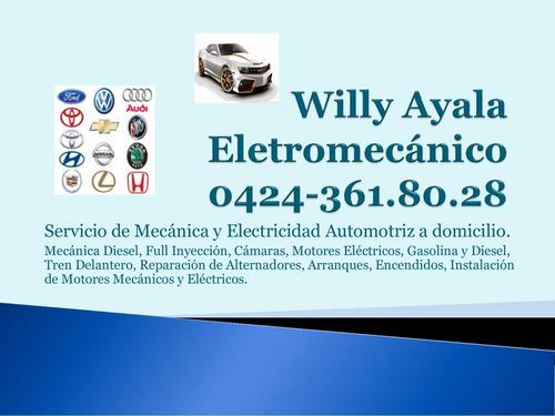 servicio de mecánica y electricidad automotriz a domicilio