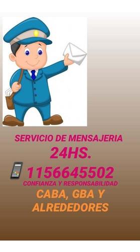 servicio de mensajeria 24hs