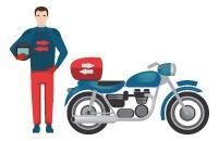 servicio de mensajería en moto