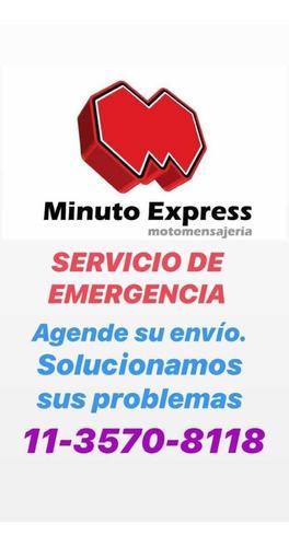 servicio de mensajeria en moto-capital a convenir- seguridad