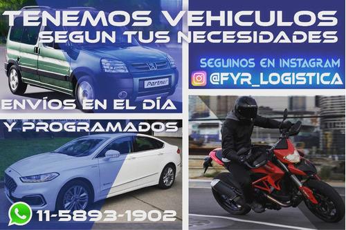 servicio de mensajería moto - auto - camioneta - cadeteria -