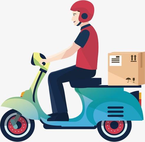servicio de mensajería y entrega
