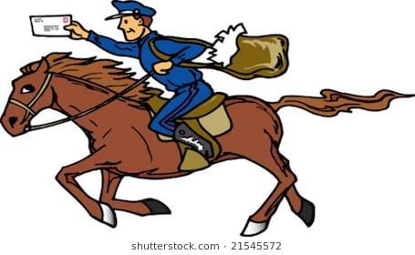 servicio de moto mensajería   la caballería
