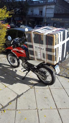 servicio de moto mensajeria miniflete en caba y zona norte