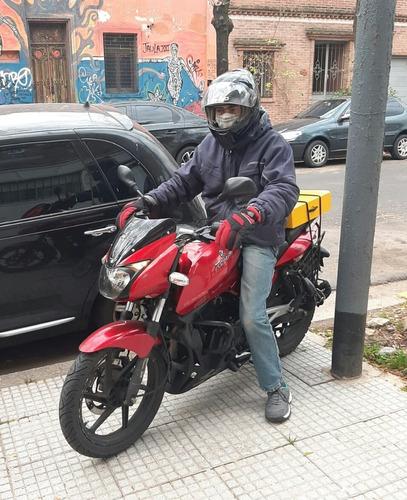 servicio de moto mensajeria y paqueteria caba y amba