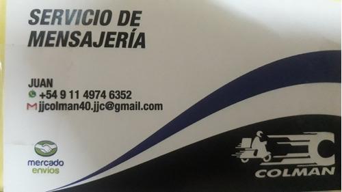 servicio de motomensajeria y logistica