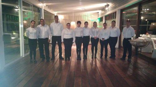 servicio de mozos y asadores baby shower bautismo casamiento