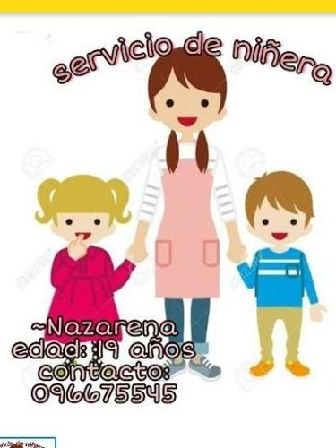 servicio de niñera