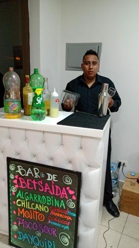 servicio de open bar -barma  domicilio no importa el distrit