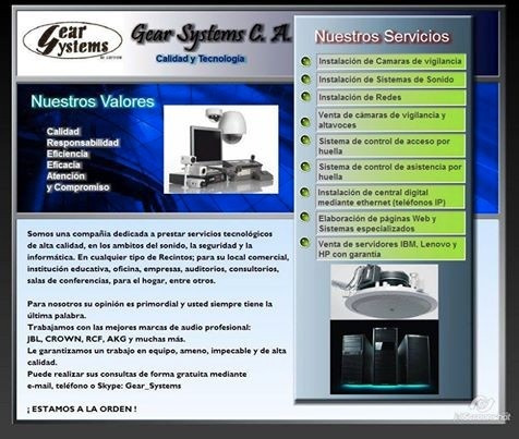 servicio de outsourcing en administrador de red.