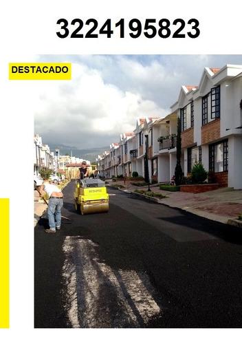 servicio de pavimentaciones y asfalto.