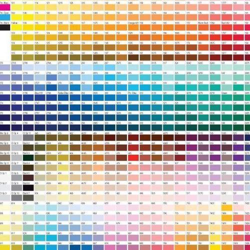 servicio de perfilación de colores sublimación