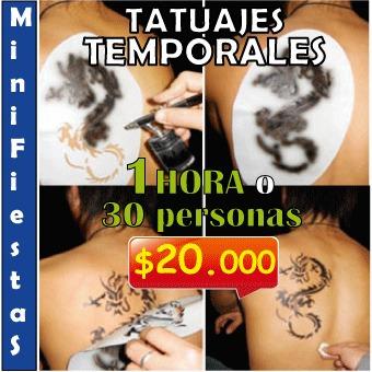 servicio de pinta caritas, tatuajes temporales, fiesta fluor