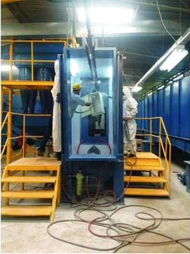 servicio de pintura electrostática