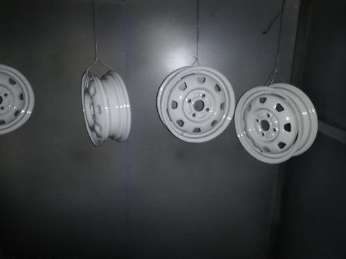 servicio de pintura electrostática y samblasting
