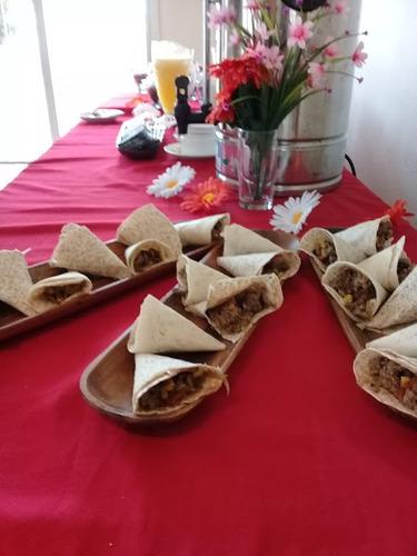 servicio de pizzas lehmeyun tragos comida mexicana chivito