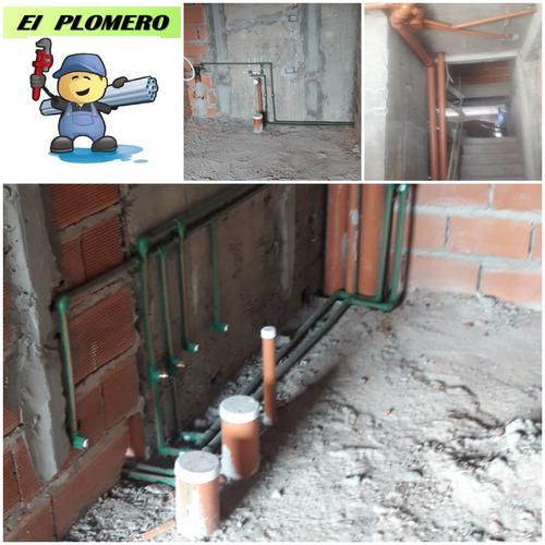 servicio de plomeria gas. obra y mantenimiento