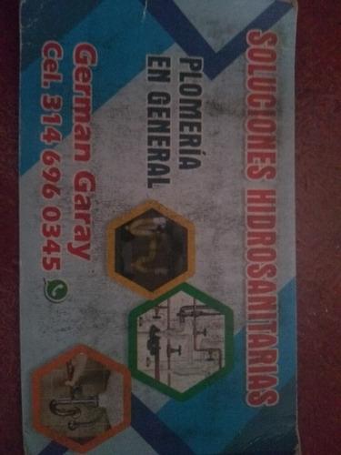 servicio de plomería hidráulica sanitaria . red contra incen