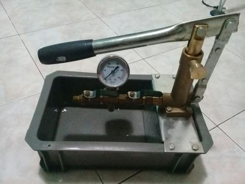 servicio de prueba de presion de tuberias t50kp 0-700 psi