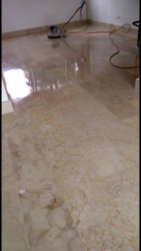 servicio de pulido brillado y cristalizado todo tipo de piso
